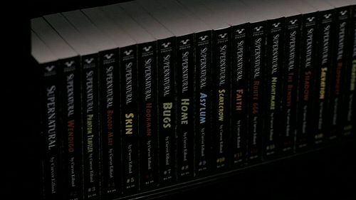 supernatural books